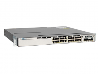 Cisco switch 3750X-24-PS Garansi 1 Tahun